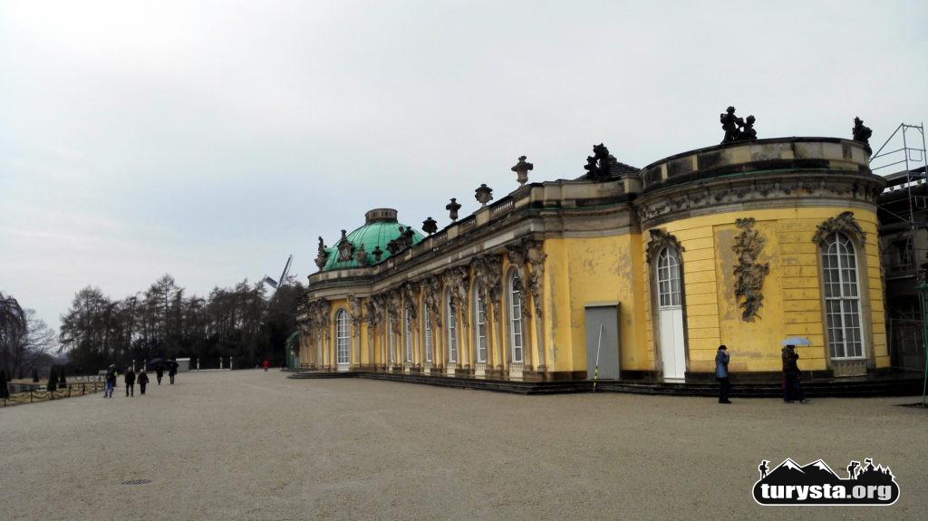 Fasada pałacu Sanssouci