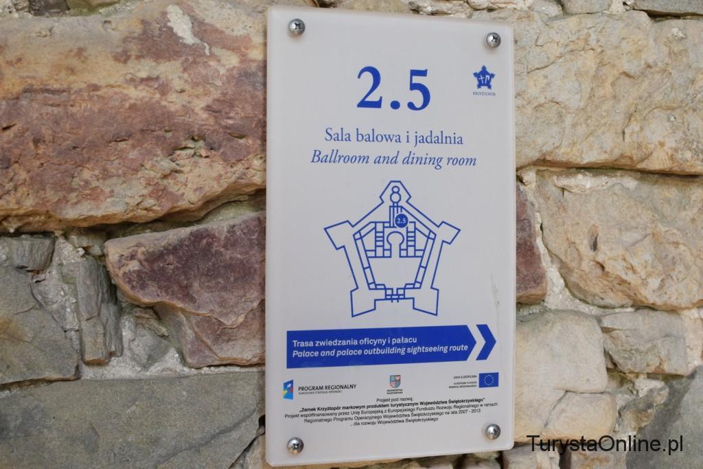 turystaOnline.pl Zamek Krzyżtopór w Ujeździe 13
