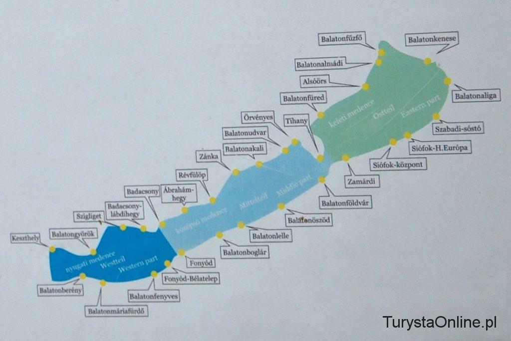 mapa balaton