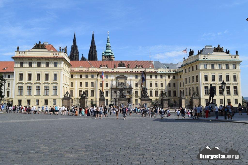 Hradczany - Pałac Praski